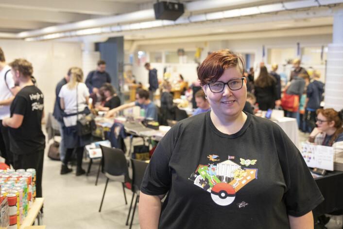 Kristin Nyland Kjos er årets Con-ansvarlig. Foto: Olav Helland