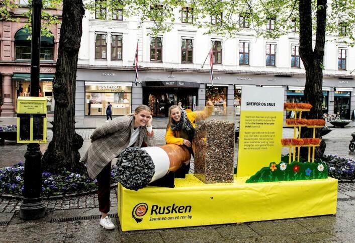 Bak firmaet Sneipfritt står Lisa Nyland Johansen (til venstre) og Andrea Storhaug
