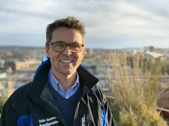 Morten Anker-Nilssen, seksjonssjef for parker i Bymiljøetaten. Foto: Bymiljøetaten