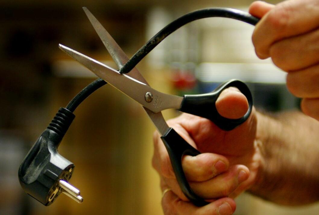 Det finnes mange enkle måter å kutte strømregningen på. Dette er kanskje ikke den mest anbefalte. Foto: Knut Fjeldstad / Scanpix