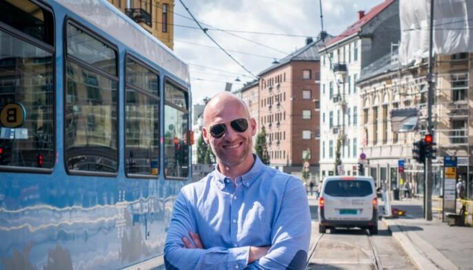 – Vi er veldig stolte av samarbeidet med Helly Hansen, sier gründer og hovedaksjonær<br>Peder Aaserud i Kindly.