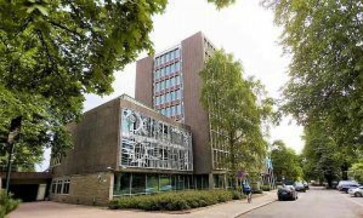 Dette blir det nye Frogner bydelshus i Drammensveien 60. Foto: Bydel Frogner