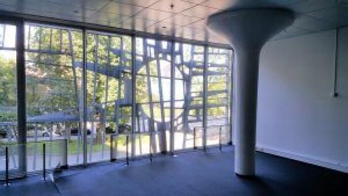 I Drammensveien 60 sørger en del av rommene for at man kan gjennomføre møter i ekte retrostil.