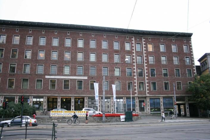Praktbygget i Sommerrogata 1. Her ligger bydelsadministrasjonen til bydel Frogner. Foto: Wikimedia Commons