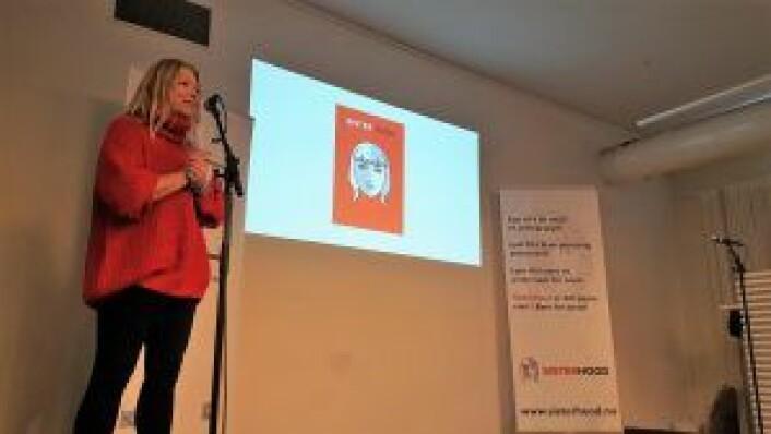 Yvonne Larsen, fagkoordinator i<br /> Kompetansesenter rus - Oslo, og prosjektleder for bokprosjektet.