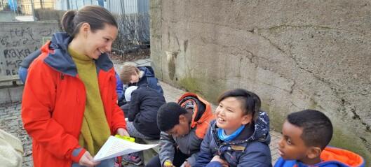 Gratis kurs i Bydel Frogner hjelper inaktive og overvektige barn