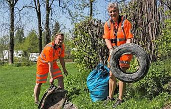 Har en sleiping dumpet søppel i nærområdet ditt? Få det fjernet med Ruskens mobilapp