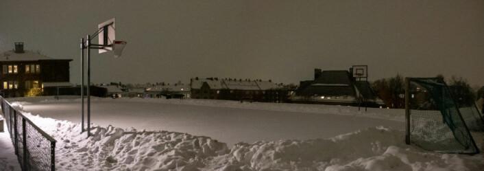 Skøytebanen Idioten i månedskiftet januar/februar.