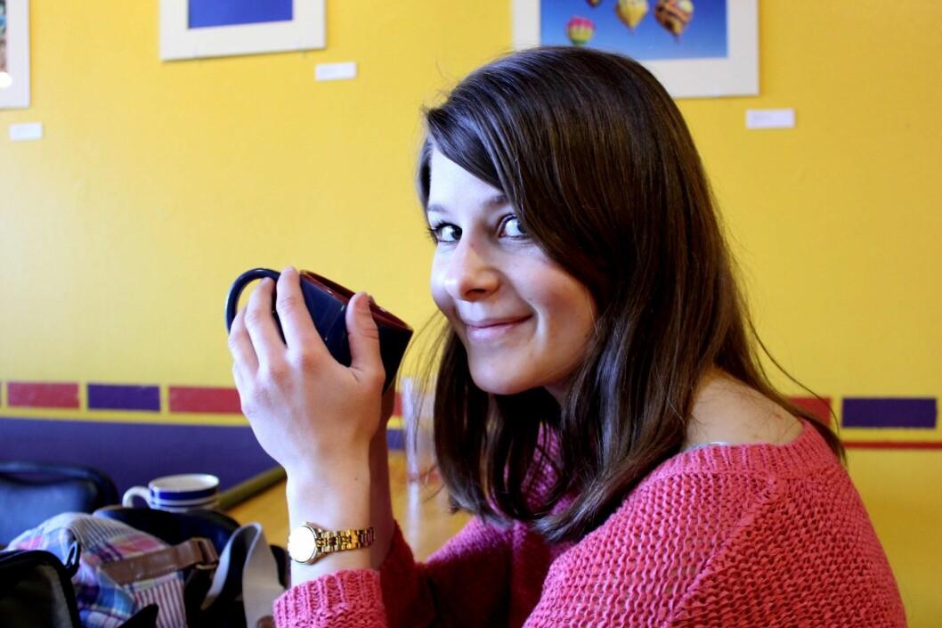 Thea Wolff Kristensen fant det svært befriende å gå i en skole der hun ble lyttet til og kunne lære av andres erfaringer. Foto: Privat