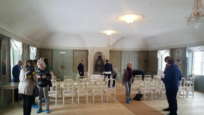 Frogner Hovedgård, hvor partnerskapsavtalen ble inngått, er i seg selv et flott og historisk bygg i Bydel Frogner.