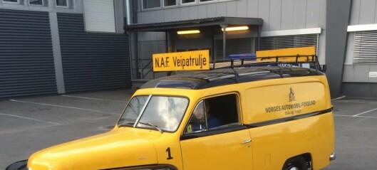 Har du en bil som er eldre enn 30 år? Den 26. og 27. april gjennomfører NAF i Oslo bremsekontroll