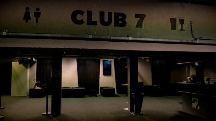 Ser du deg litt rundt på Rockefeller er det mulig å finne hyllester til legendariske Club 7, som lederne av Rockefeller har sitt utspring fra. Foto: Thor Langfeldt