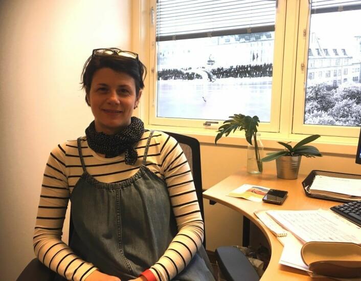 Mariyana Neloska, seniorveileder og koordinator for aldersvennlig by-prosjektet i Bydel Frogner. Foto: Privat