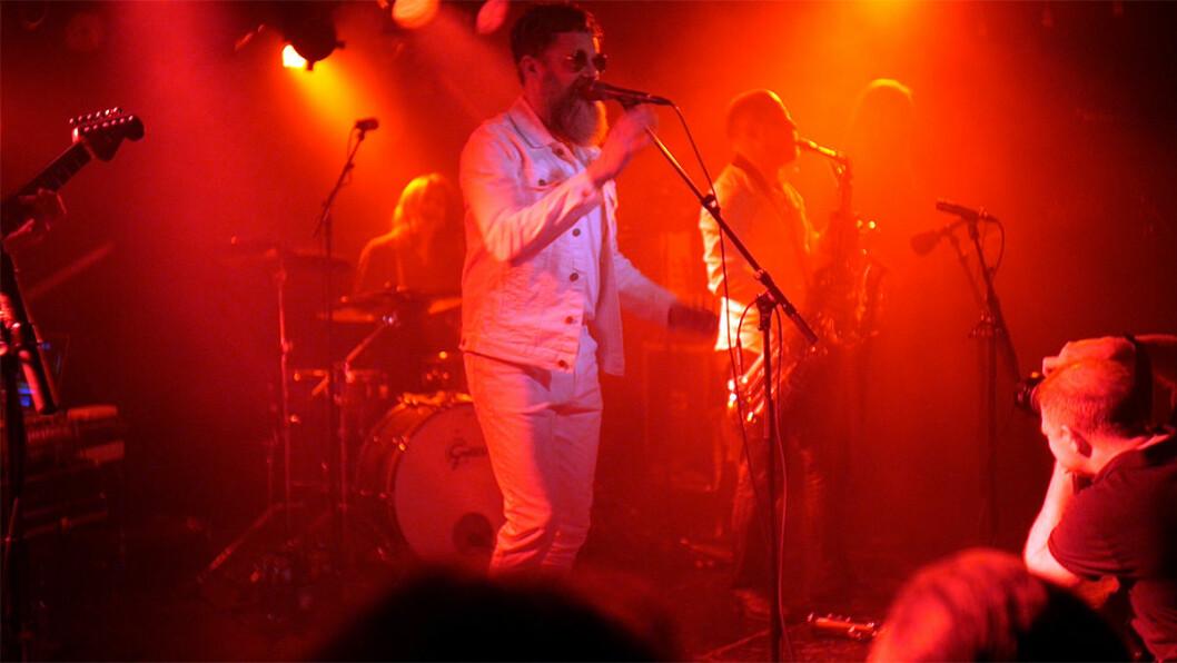 Bare Egil Band synger om John Dee - på John Dee. Foto: Thor Langfeldt