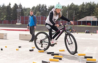 Her lærer Oslo-barn å sykle trygt