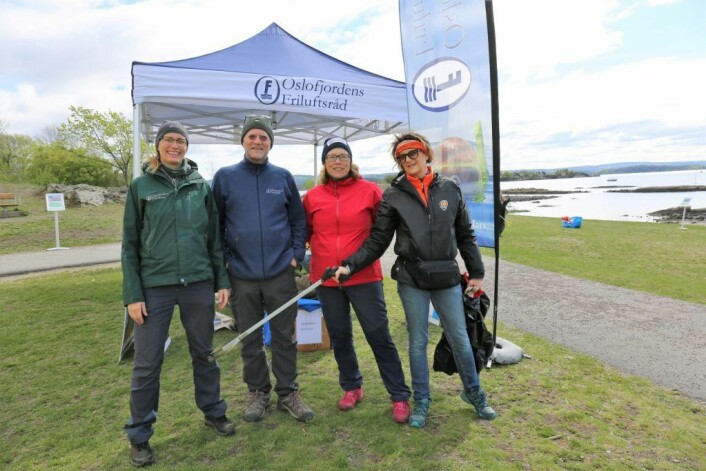 En av samarbeidspartnerne til Baderusken er Oslofjordens Friluftsråd. Foto: Rusken