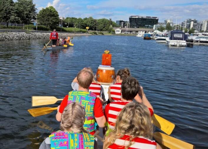 Oslo dragebåtklubb er en av organisasjonene som tidligere har mottatt Bydel Frogners frivillighetsmidler. Foto: Christian Fornes