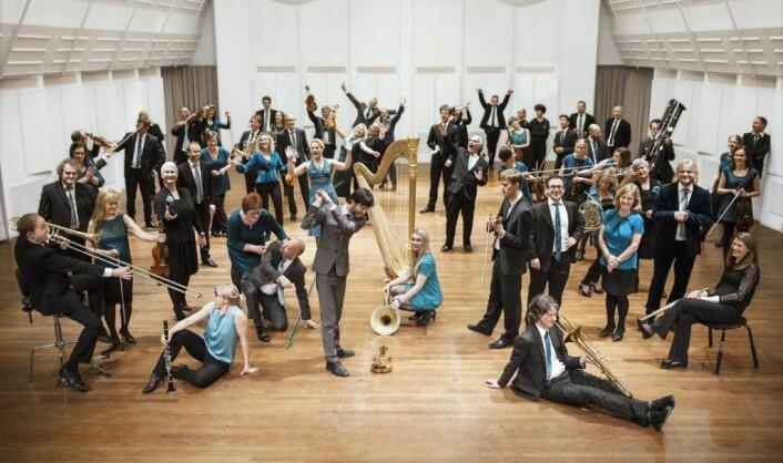 Kringkastingsorkesteret, også kjent som KORK. Foto: Anna Julia Granberg / BLUNDERBUSS