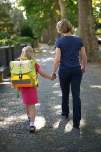 Det nytter ofte å engasjere seg for at barna får en tryggere skolevei. Foto: Jan Haas / NTB scanpix
