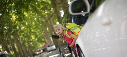 Én av fire i osloområdet går med hjertet i halsen grunnet farlige skoleveier