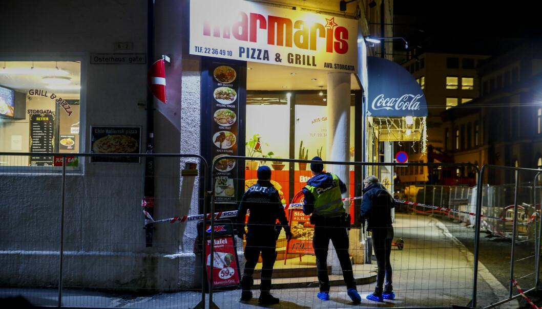 Politiet er på stedet der en person er alvorlig skadd etter et personran.