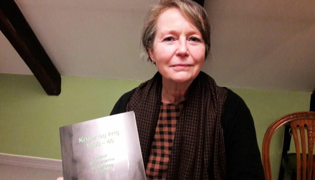 Forfatter Martina Gaux har vært redaktør for Grünerløkka historielags første årbok.