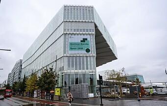 Deichman-bibliotekene stenger. Åpningen av nytt hovedbibliotek utsettes