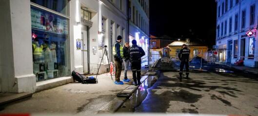 Knivstukket mann i Storgata ikke livstruende skadd – ingen pågrepet