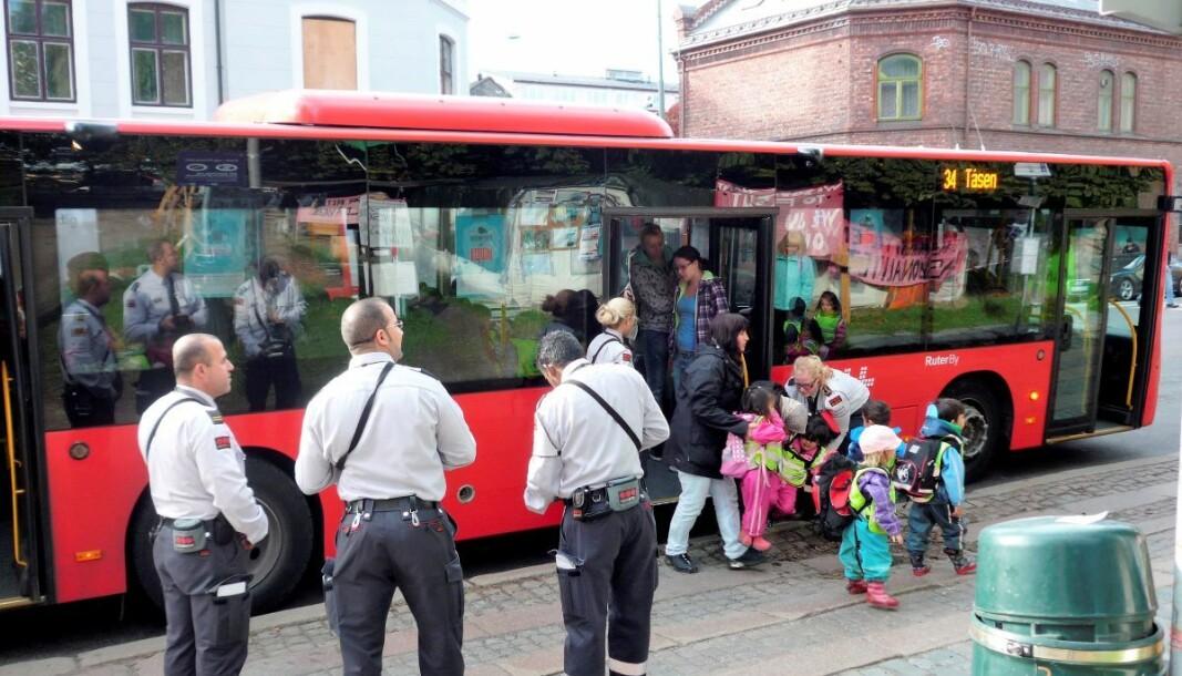 Kollektivselskapet Ruter har stoppet alle billettkontroller fram til 26. mars.