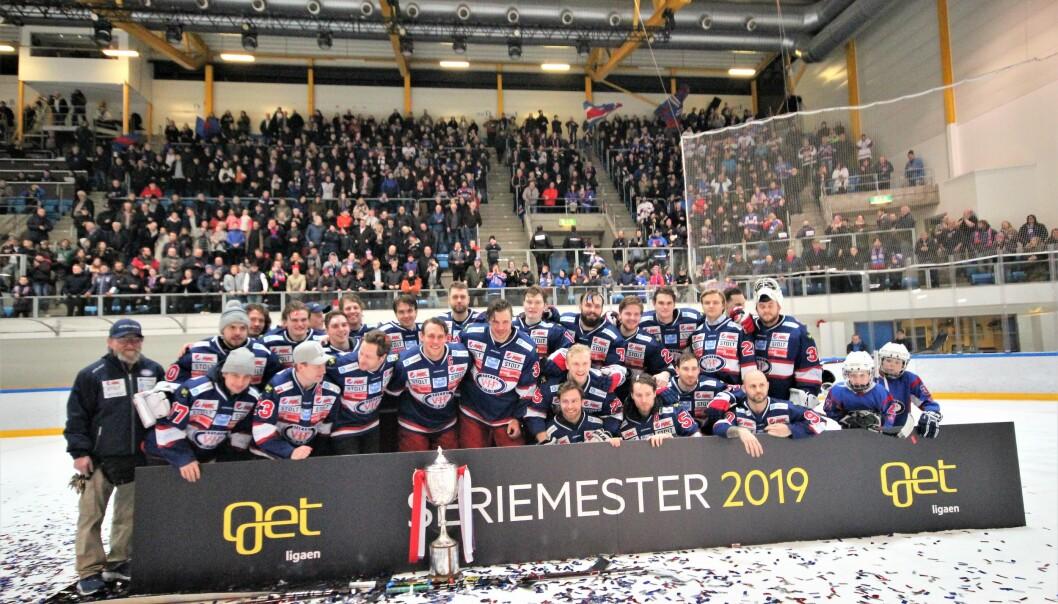 Vålerenga ishockey ble seriemestre i 2019, i år endte det på tredjeplass.