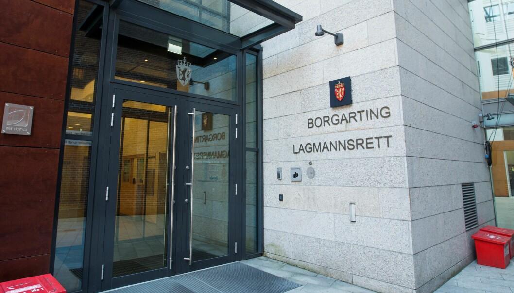 Oslo  20180711. Eksterir Borgarting lagmannsrett i Keysers gate 13. Foto: Trond Reidar Teigen / NTB scanpix