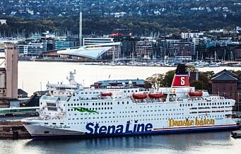 Stena Line legger ned danskebåten mellom Oslo og Frederikshavn