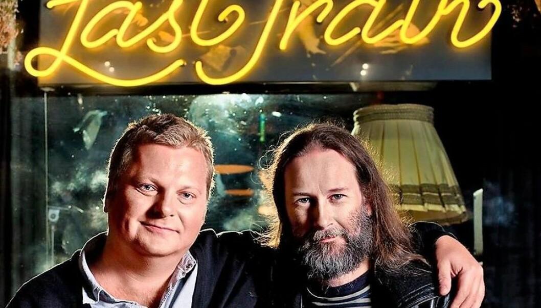 Last Train har gjennom 35 år fått en posisjon som et mini kulturhus for musikkinteresserte i Oslo. Her er musikkbaren representert ved Martin Dynna til venstre, og Frode Halsen