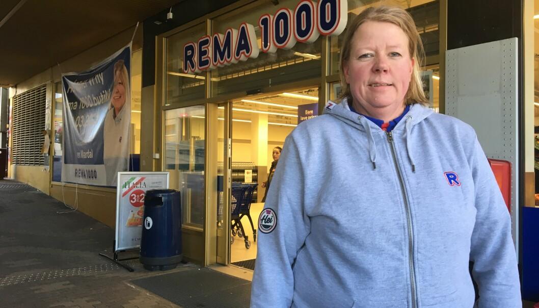 De nye lokalene til Rema 1000 ligger på Tøyensenteret, rett overfor Biblo. Butikkens nye sjef er Iren Mardal.