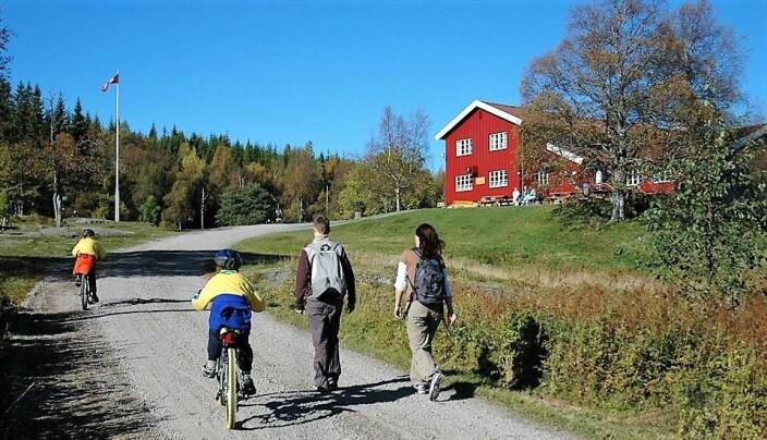 Ullevålseter sportsstue i Nordmarka er en populær destinasjon for mange turgjengere.