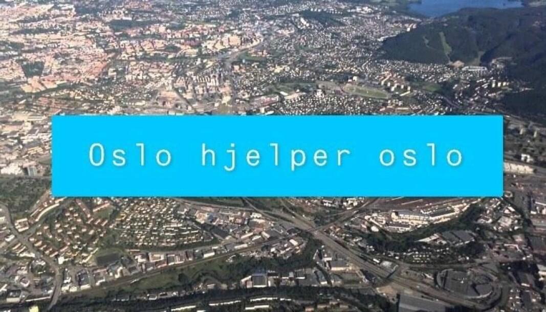 — Nå har denne gruppen gitt folk et sted å bo. Gitt mange folk i karantene mat, medisiner, klær og leker. Den har hjulpet til med å skysse folk frem og tilbake til legetimer. Mange har fått noen å prate med, gode råd og nye bekjentskaper, står det på Oslo hjelper Oslos Fb-side.