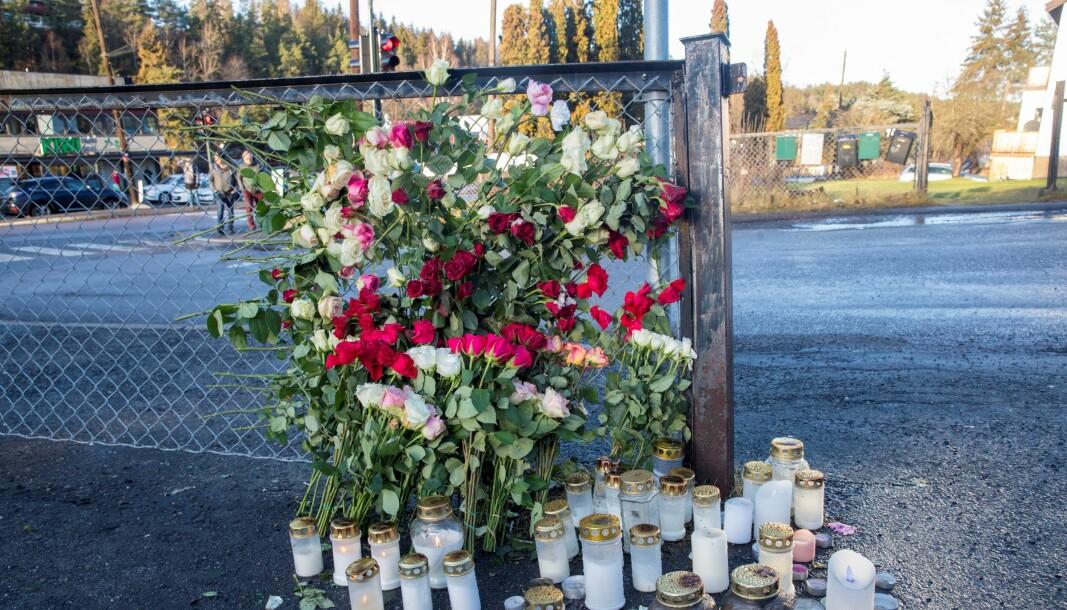 Halil Kara (21) ble skutt i hodet på denne parkeringsplassen i Prinsdal i Oslo en sen fredagskveld i januar.