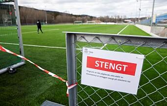 Ber politiet om hjelp til å stanse bruk av fotballbaner