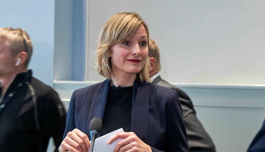 Oppvekst- og kunnskapsbyråd Inga Marte Thorkildsen (SV) frykter at barnevernsinstitusjoner må stenge på grunn av høyt sykefravær.