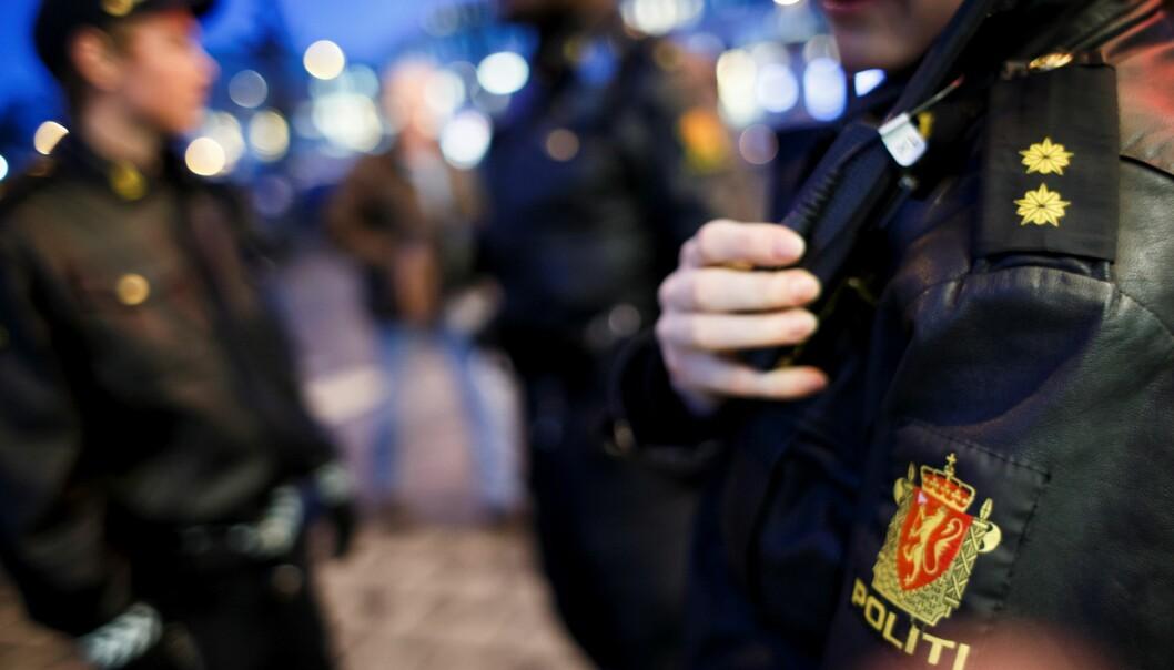 — De er kjent for politiet fra før, men i litt ulik grad. Foreløpig er de innbrakt for ordensforstyrrelse, opplyser politiet.