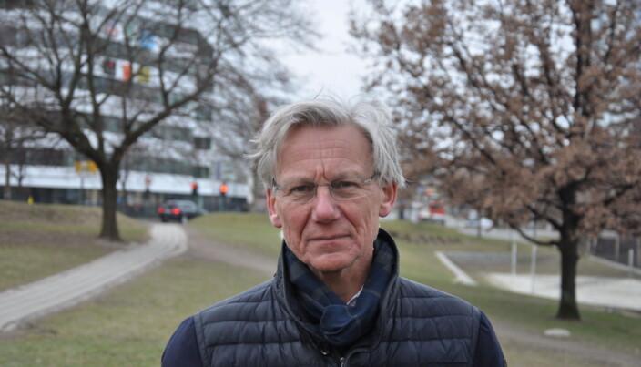 — Jeg blir varm om hjertet av å se den fantastiske jobben Frelsesarmeen gjør, sier James Stove Lorentzen (H).