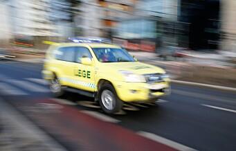 Gravid kvinne i trafikkuhell på Carl Berners plass – til sykehus i ambulanse da fødselen var i gang