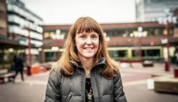 Utbyggingssjef Hanna Rachel Broch er imponert over innsatsen til anleggsarbeiderne.