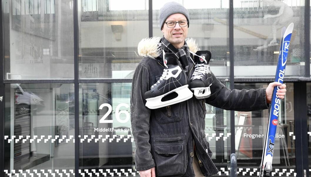 Venstrepolitiker Tore Wilken Nitter Walaker gleder seg til at bydel Frogner kan åpne et utllånstilbud for sports- og fritidsutstyr til barn og unge i bydelen.