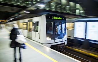 Ap krever at staten bidrar mer til ny T-banetunnel i Oslo