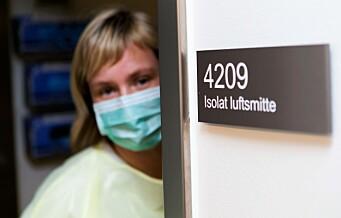 – Uforståelig at smitte ikke inngår i planene for det nye Rikshospitalet