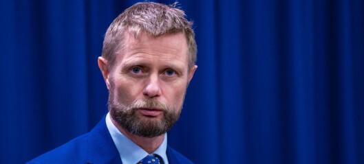 Høie ber Oslo sørge for god nok testkapasitet selv