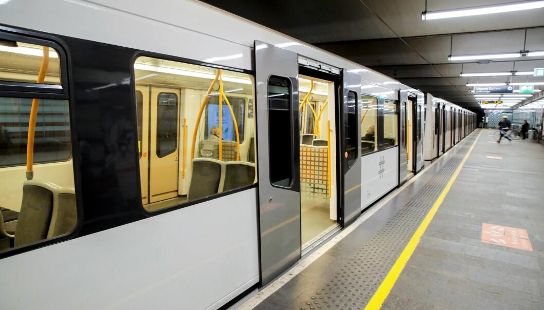 Vedlikeholdsarbeid på T-banen i Oslo medfører at det ikke vil gå T-bane gjennom sentrum på kveldstid de neste ukene. Det vil bli satt opp buss, opplyser Ruter.