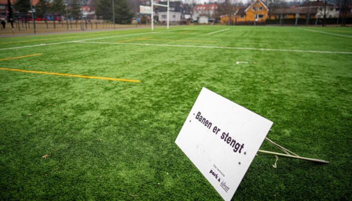 Mandag 24. mars stengte Oslo kommune Voldsløkka og andre idrettsanlegg for all bruk. Nå er de tillatte å bruke igjen.