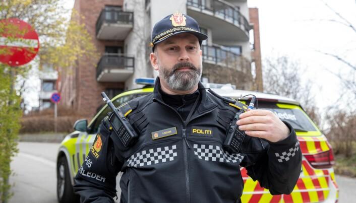 Innsatsleder Svend Bjelland tror politiet raskt vil komme til bunns i saken.